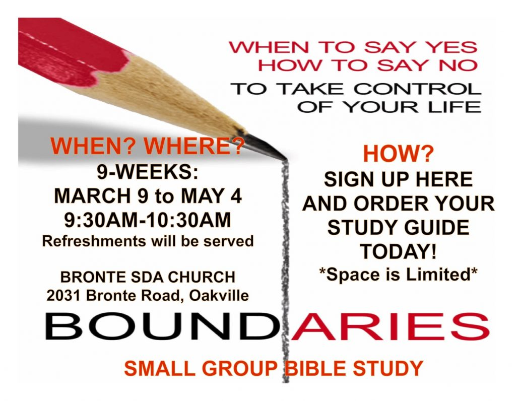 Boundaries flyer